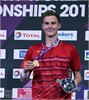 Viktor Axelsen beats Lin Dan in the Total BWF World Championships