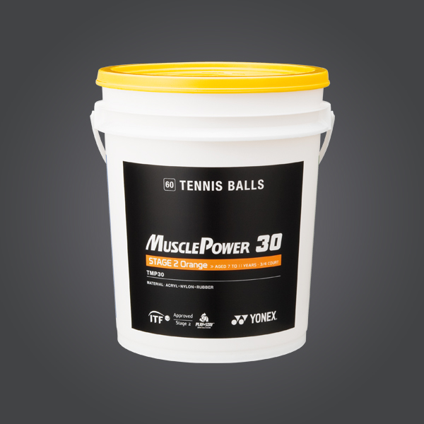 MUSCLE POWER 30 Tennis Balls